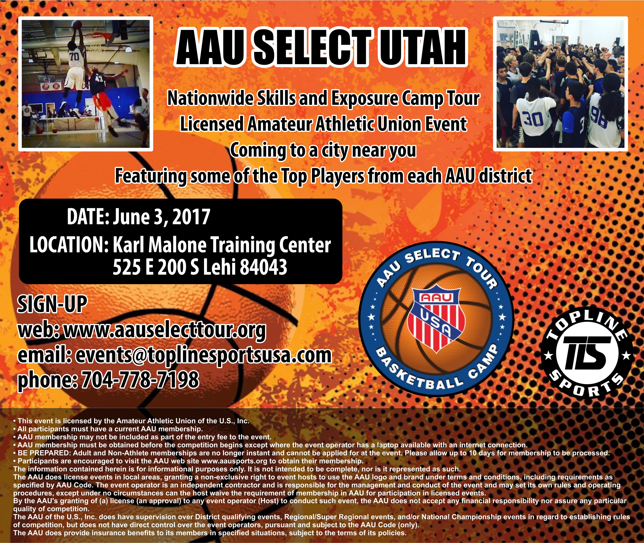 Skills And Exposure Camp Tour Licensed Amateur Athletic Union Event Coming To A City Near You Featuring Some Of The Top Players From Each AAU District